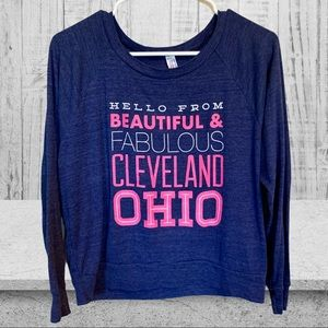 AMERICAN APPAREL Hello From Ohio Sweatshirt